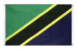Tanzania - Banner Flag 3x5 ft, landscape