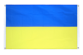 Ukraine - Banner Flag 3x5 ft, landscape