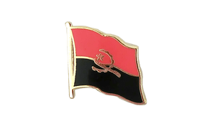 Angola - Flag Lapel Pin