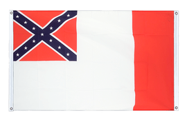 USA 3rd Confederate - Banner Flag 3x5 ft, landscape