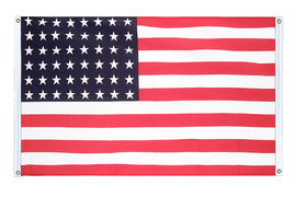 USA 48 stars - Banner Flag 3x5 ft, landscape