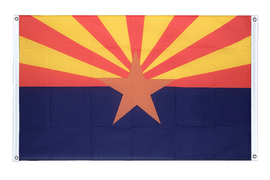 Arizona Grommet Banner Flag - 3x5 ft, landscape