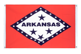 Arkansas - Banner Flag 3x5 ft, landscape