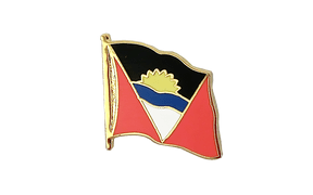 Antigua und Barbuda - Flaggen Pin 2 x 2 cm