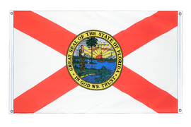 Florida - Banner Flag 3x5 ft, landscape