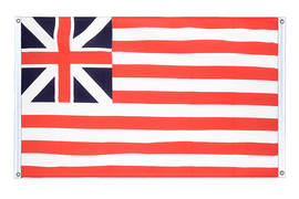 USA Grand Union 1775 - Banner Flag 3x5 ft, landscape