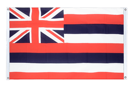 Hawaii - Banner Flag 3x5 ft, landscape