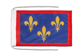Anjou - Flag with ropes 8x12""
