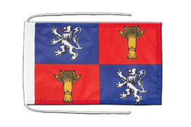 Gascogne - Flag with ropes 8x12""