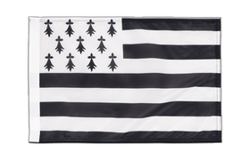 Small Flag Brittany - 12x18""