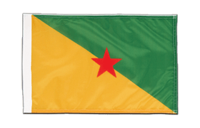 French Guiana - 12x18 in Flag