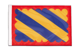 Small Nivernais Flag - 12x18""