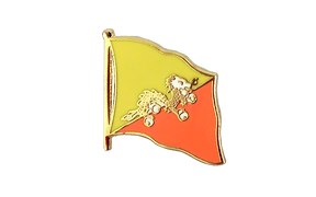 Flag Lapel Pin Bhutan