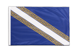Sleeved Champagne-Ardenne Flag PRO - 2x3 ft