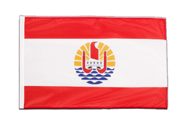French Polynesia - Sleeved Flag PRO 2x3 ft