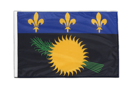 Sleeved Guadeloupe Flag PRO - 2x3 ft