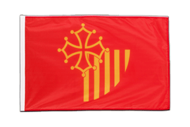 Languedoc-Rousillon - Sleeved Flag PRO 2x3 ft