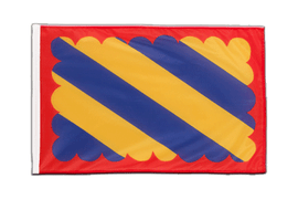 Sleeved Nivernais Flag PRO - 2x3 ft