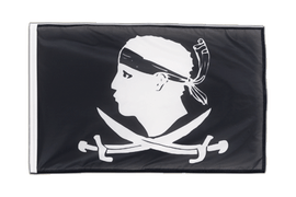 Pirate Corsica - Sleeved Flag PRO 2x3 ft