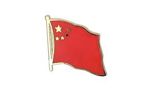 China - Flag Lapel Pin