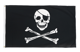 Pirate Skull and Bones - Premium Flag 3x5 ft CV