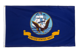 US Navy - Premium Flag 3x5 ft CV
