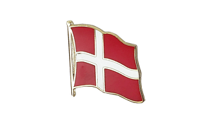 Denmark - Flag Lapel Pin