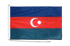 Azerbaijan Boat Flag - 2x3 ft