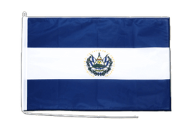 El Salvador Boat Flag - 2x3 ft
