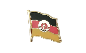 GDR - Flag Lapel Pin