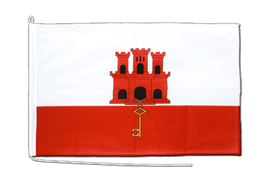 Gibraltar Boat Flag - 2x3 ft