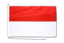 Indonesia - Boat Flag PRO 2x3 ft
