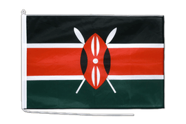 Kenya Boat Flag - 2x3 ft