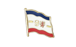 Pin's drapeau Mecklembourg-Poméranie-Occidentale - 2 x 2 cm