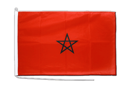 Morocco Boat Flag - 2x3 ft