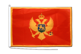 Montenegro Boat Flag - 2x3 ft