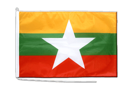 Myanmar new Boat Flag - 2x3 ft