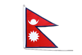 Nepal Boat Flag - 2x3 ft