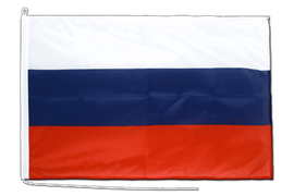 Russia Boat Flag - 2x3 ft