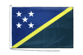 Solomon Islands - Boat Flag PRO 2x3 ft