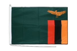 Zambia Boat Flag - 2x3 ft