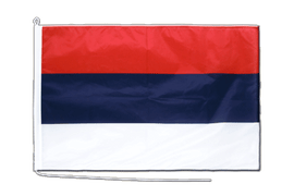 Serbia Boat Flag - 2x3 ft