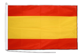 Spain without crest Boat Flag - 2x3 ft
