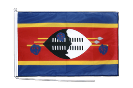 Bootsflagge PRO Swasiland - 60 x 90 cm