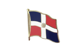 Dominican Republic - Flag Lapel Pin