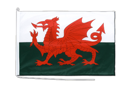 Wales - Bootsflagge PRO 60 x 90 cm