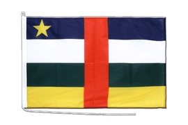 Central African Republic - Boat Flag PRO 2x3 ft