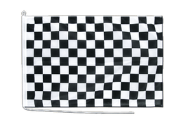 Checkered - Boat Flag PRO 2x3 ft