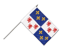 Picardie - Stockflagge PRO 30 x 45 cm