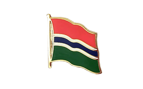 Gambia - Flag Lapel Pin